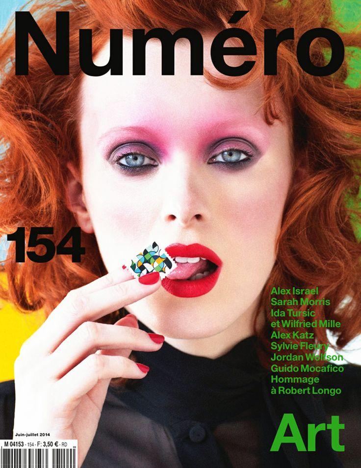 Karen Elson by Victor Demarchelier for Numero Magazine, June, July, 2014