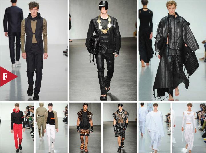 London-fashionweek-fall-ready-to-wear-SPRING 2015 MENSWEAR-Lee Roach-KTZ-Craig Green