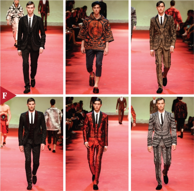 Milan-fashionweek-fall-ready-to-wear-SPRING 2015 MENSWEAR-Dolce & Gabbana