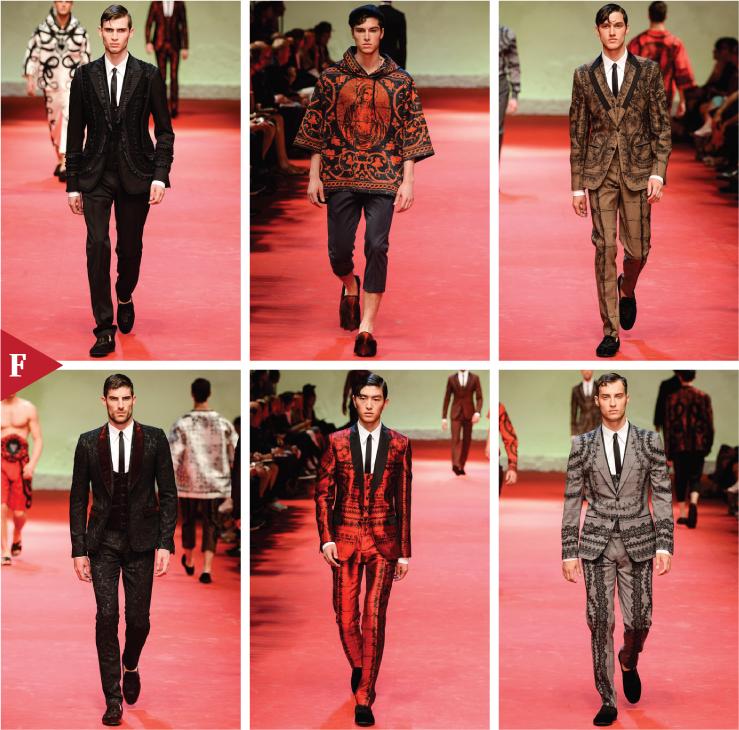 Milan-fashionweek-fall-ready-to-wear-SPRING 2015 MENSWEAR-Dolce & Gabbana