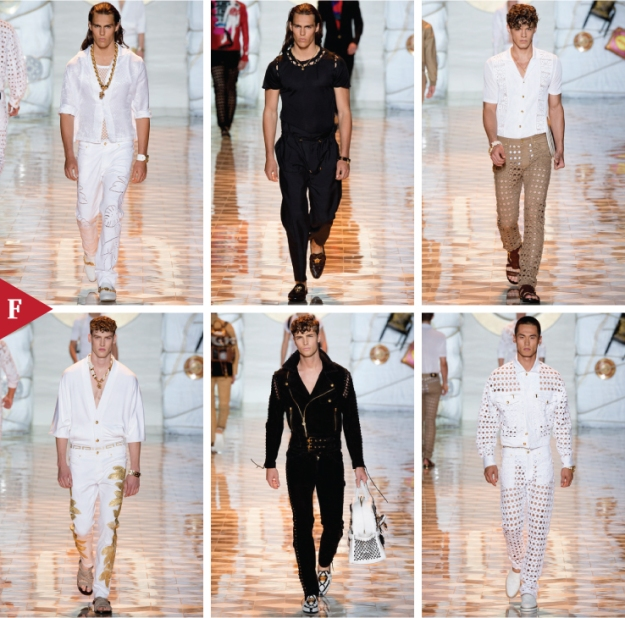 Milan-fashionweek-fall-ready-to-wear-SPRING 2015 MENSWEAR-Versace