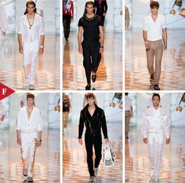 Milan-fashionweek-fall-ready-to-wear-SPRING 2015 MENSWEAR-Versace
