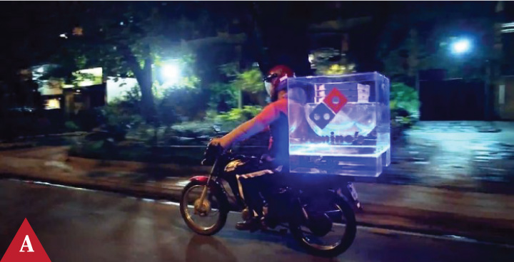 MondayAd-Domino's Pizza Steady Pizza