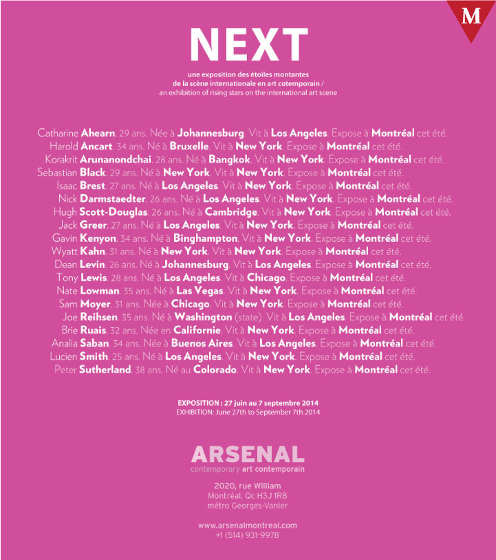 MONTRÉAL EVENT-NEXT-arsenal-montreal