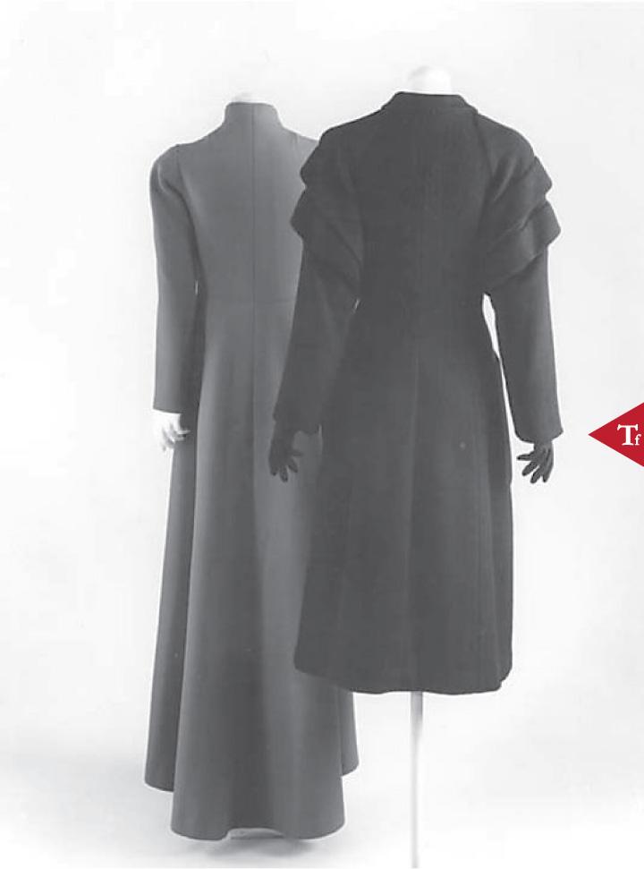 ThrowbackFashion-Coat 1949 Elsa Schiaparelli (Italian 1890–1973)