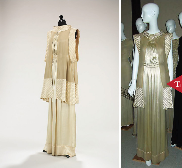 ThrowbackFashion-Evening ensemble Spring 1935 by House of Lanvin