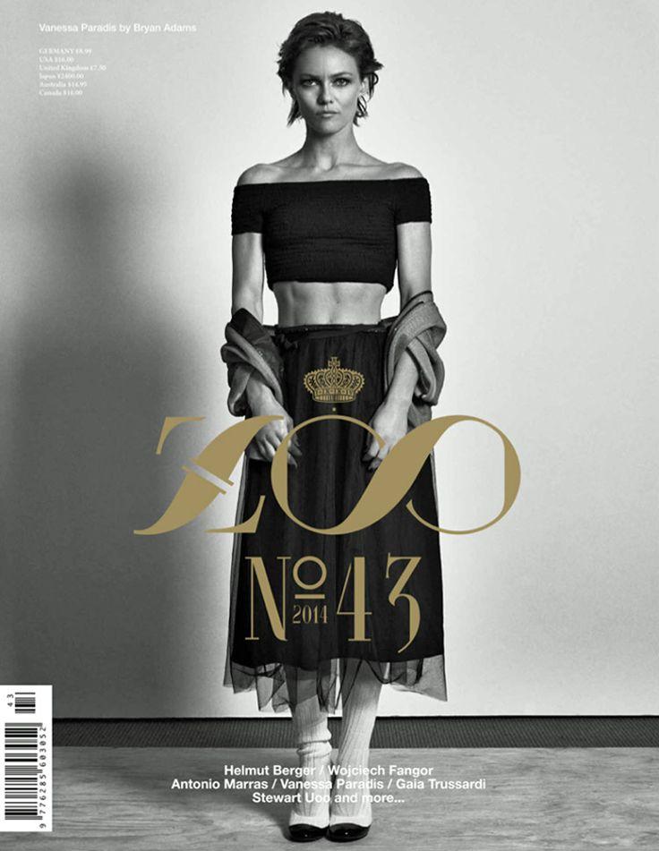 Vanessa Paradis by Bryan Adams for Zoo Magazine Summer 2014