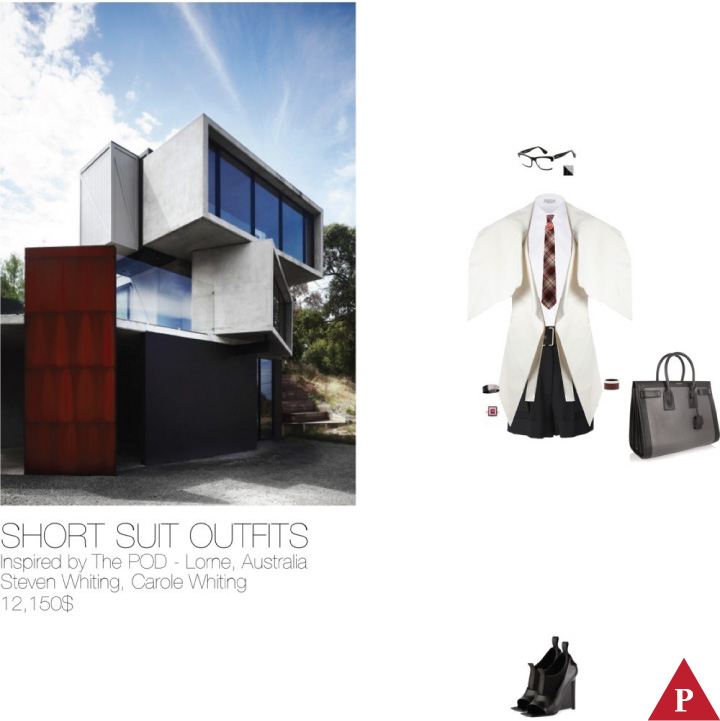 12150$ Short Suit #MostExpensiveOutfit The POD – Lorne- Australia- 2012 Steven Whiting- Carole Whiting