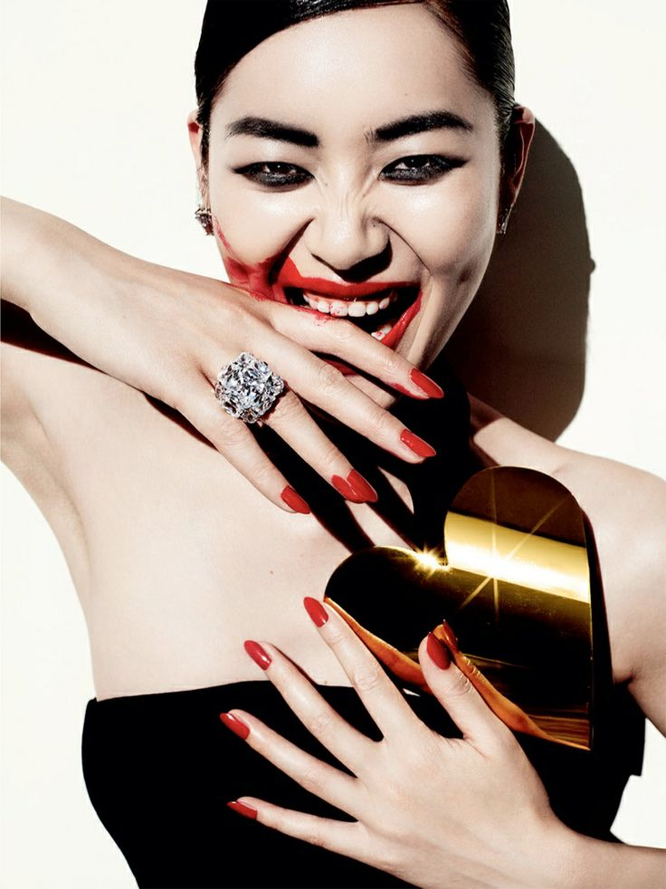 Liu Wen - Savage Grace - Vogue China 2013 Mario Testino