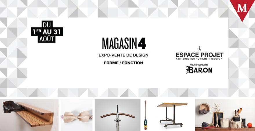 MONTRÉAL EVENT-MAGASIN 4 - Forme-Fonction