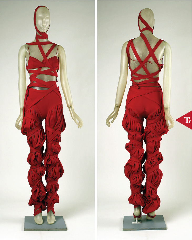 #ThrowbackFashion Ensemble- 1968 by Giorgio di Sant'Angelo (American- born Italy- 1933–1989)