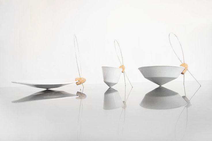 Tilt Tableware, 2014 Dor Tal