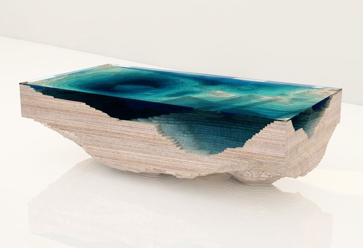 Abyss Table, 2014 Christopher Duffy
