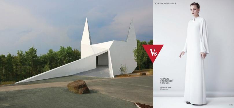 Architecture #VsFashion- White Allure ft. Schneider Schumacher- Willy Vanderperre