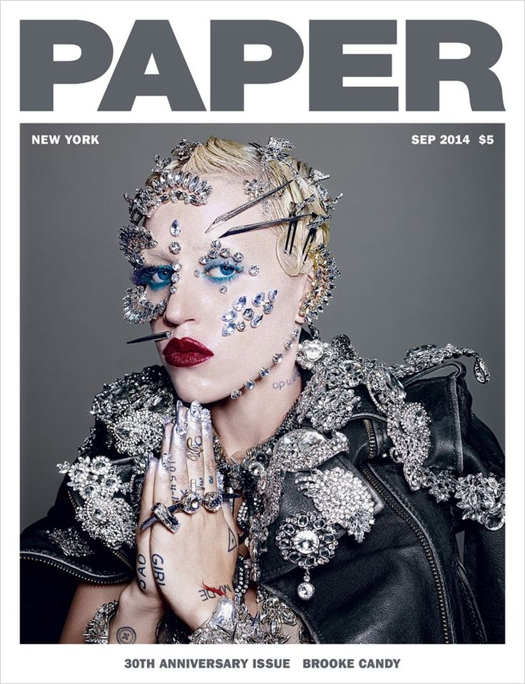 Brooke Candy by Richard Burbridge for Paper Magazine September 2014