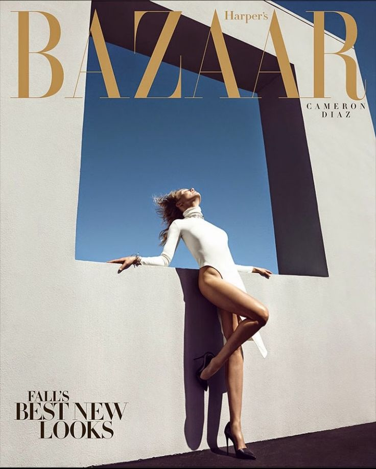 Cameron Diaz by Camilla Akrans for Harper's Bazaar US August 2014
