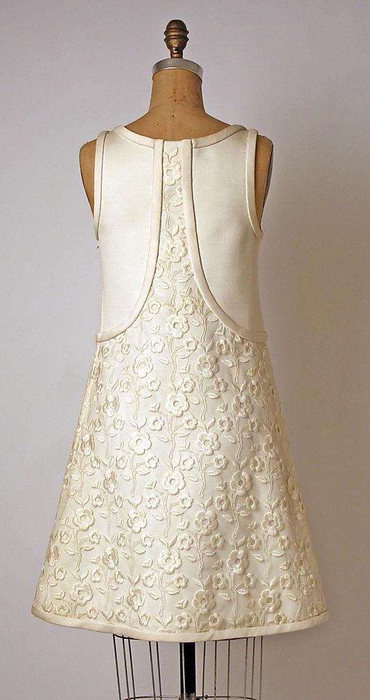 Dress 1965, André Courrèges (French, born Pau, 1923)-1974.136.2_B