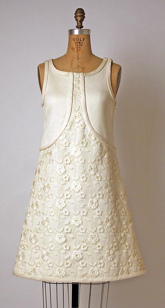 Dress 1965, André Courrèges (French, born Pau, 1923)-1974.136.2_F