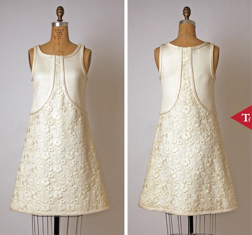 Dress 1965- André Courrèges (French- born Pau- 1923)