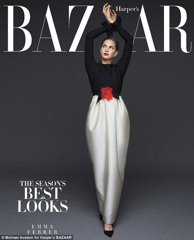 EmmaFerrer by Michael Avedon for Harper's Bazaar US September 2014