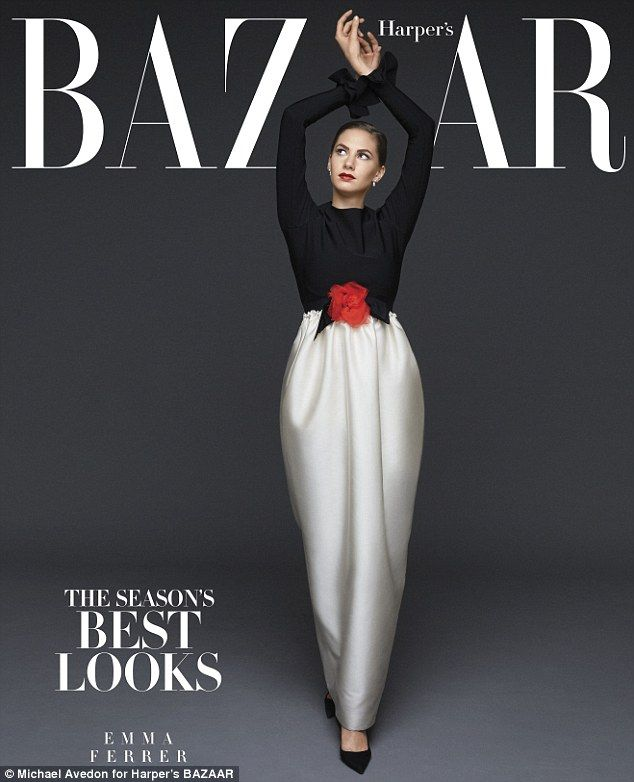 EmmaFerrer by Michael Avedon for Harper's Bazaar US September 2014