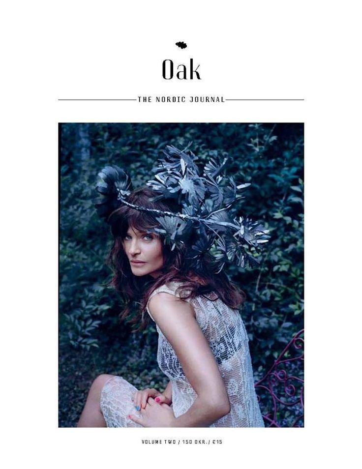 Helena Christensen by Lise Ulrich for Oak Nordic Journal Denmark Vol.2 2014