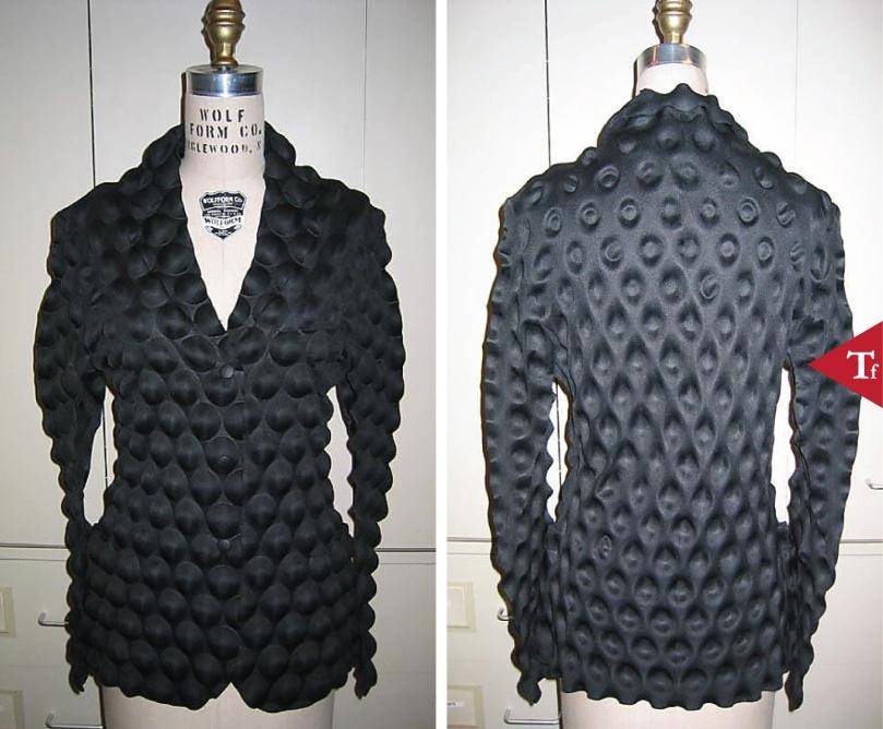 Jacket- 1993 by Issey Miyake (Japanese- born 1938)