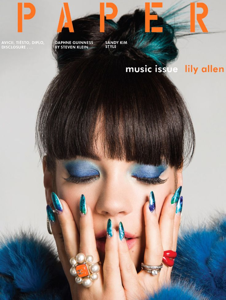 Lily Allen by Damon Baker for Paper Magazine Summer 2014