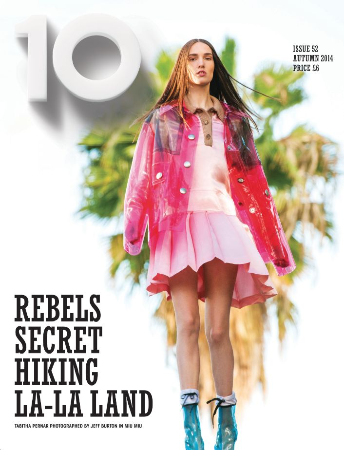 Tabitha Pernar by Jeff Burton for 10 Magazine # 52 Fall 2014