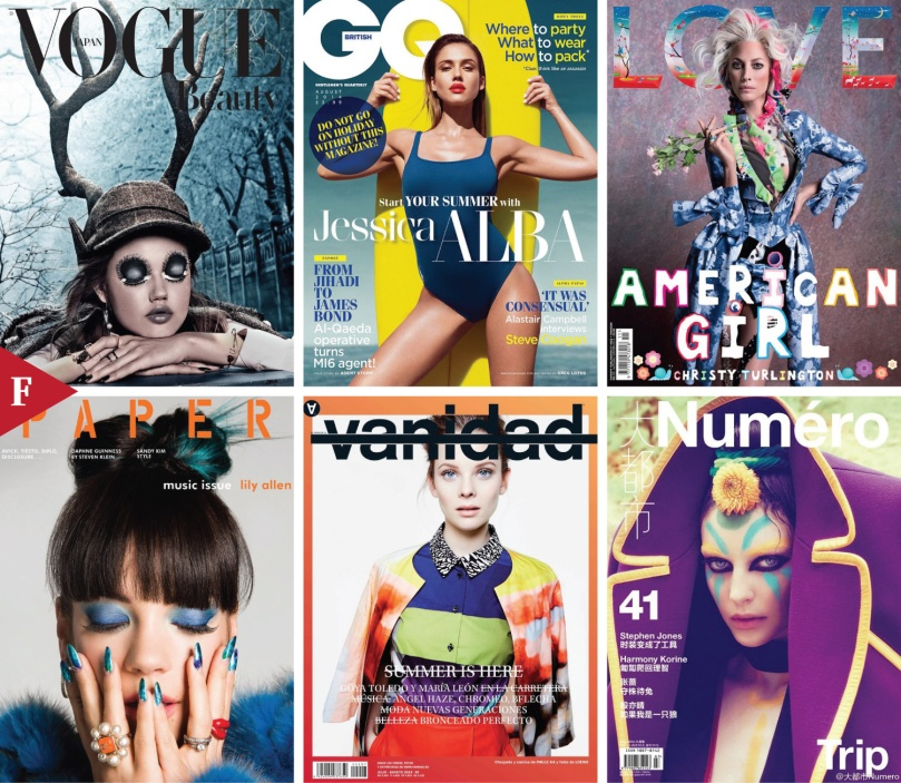 Top 9 #FashionCovers August 2014