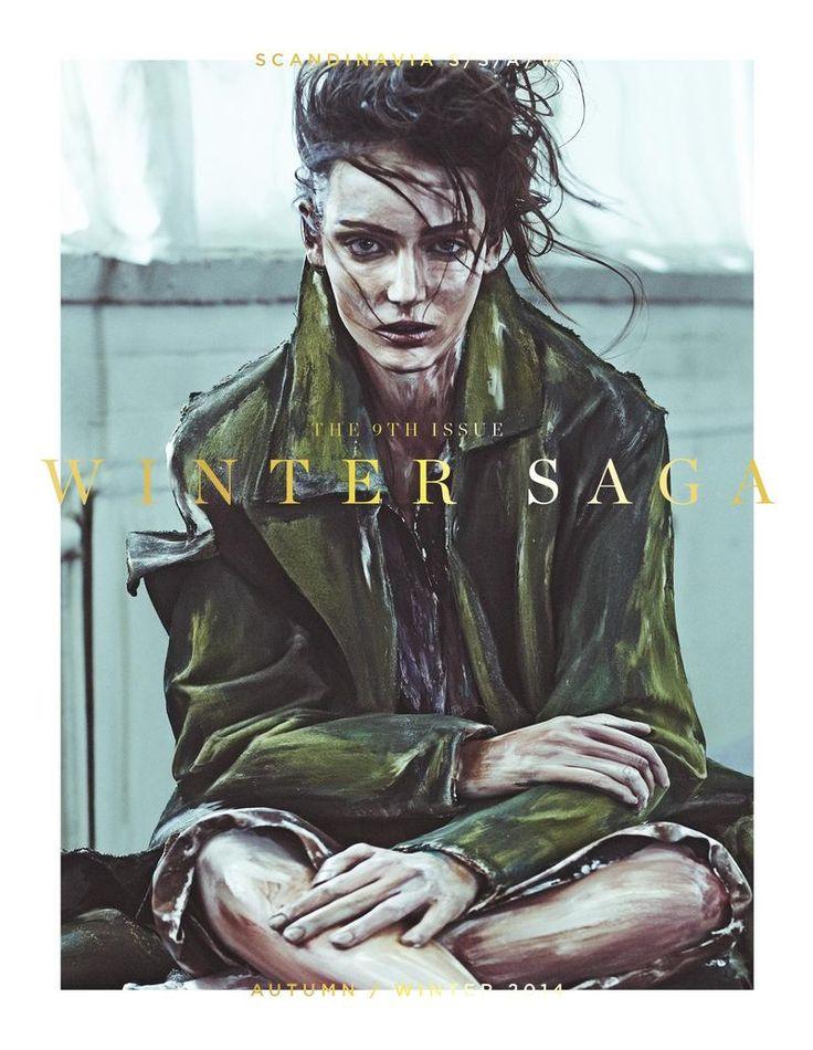 Zuzanna Bijoch by Boe Marion for Scandinavia SSAW Magazine AW 14