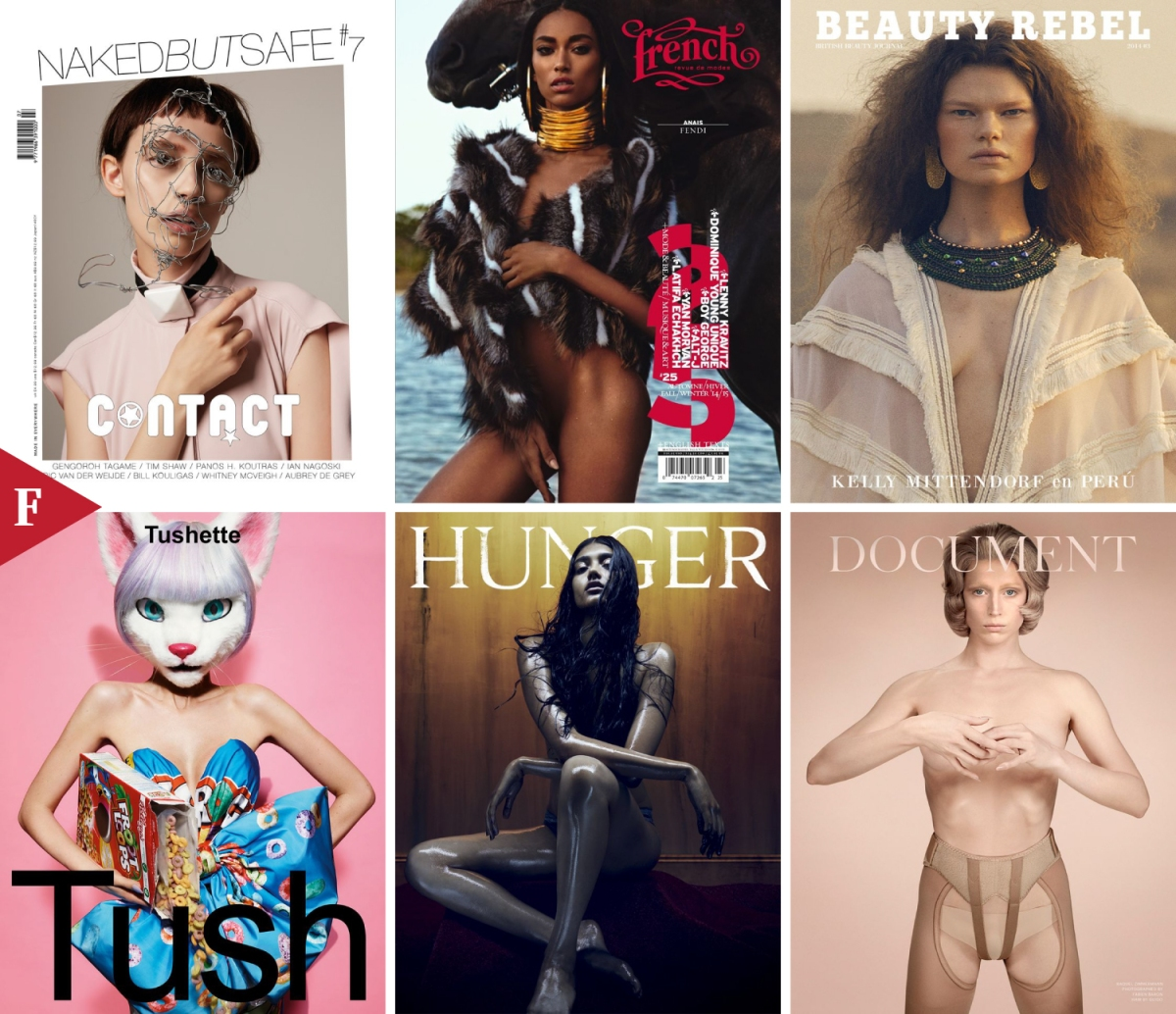 Top 9 #FashionCovers October 2014 ft. @bonmagazine @lonewolfmag @NakedButSafeMag @TushMagazine @beautyrebelmag @ODDAmagazine @documentjournal @HungerMagazine