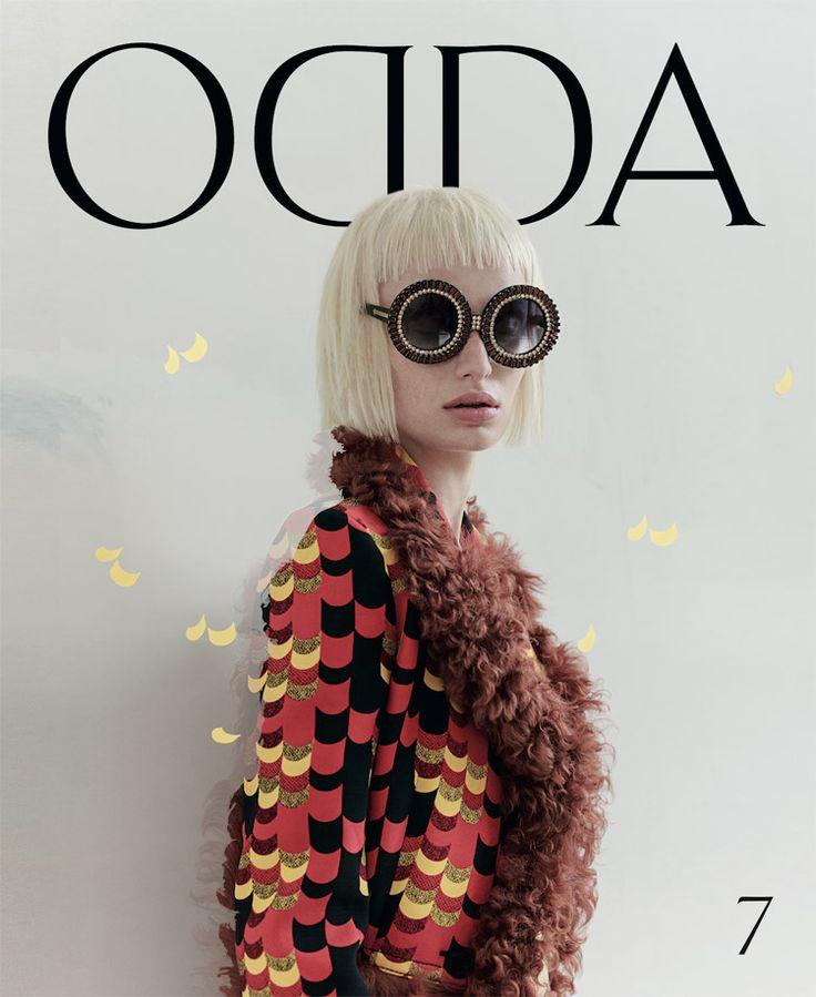 Stephanie Hall by Philip Meech for ODDA Magazine 7, 2014