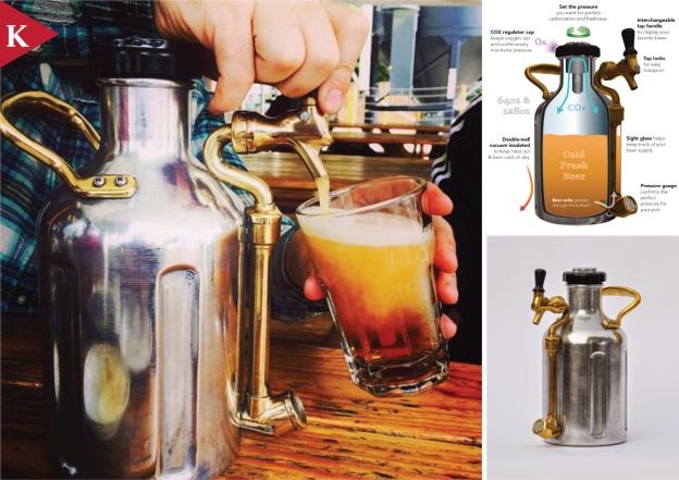 #KickStarterPick The uKeg Pressurized Growler for Fresh Beer by GrowlerWerks