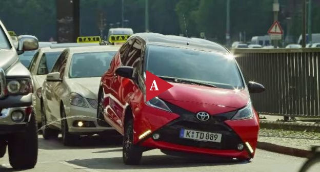 #MondayAd from Saatchi Saatchi- Dusseldorf - Toyota Aygo- Crazy