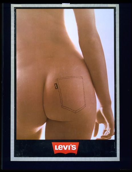 #ThrowbackFashion Levi Ad by Ida van Bladel 1973