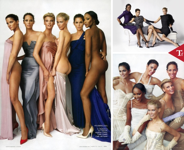 A League of Their Own by Mario Testino for Vanity Fair September 2008