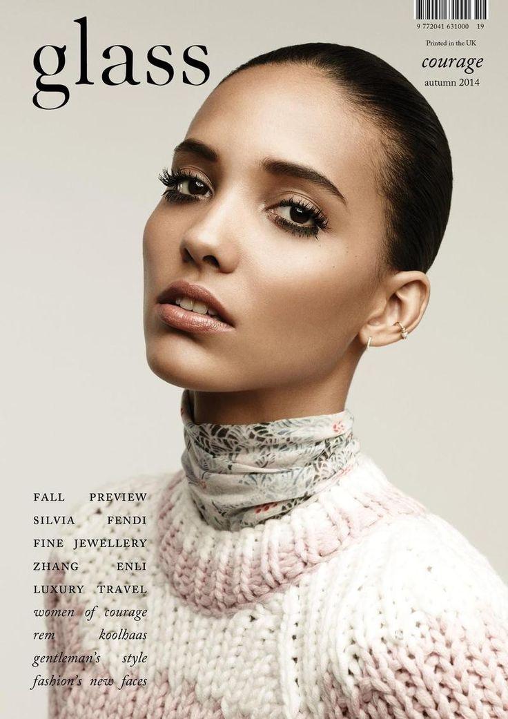 Cora Emmanuel by Bojana Tatarska for Glass Magazine Autumn 2014