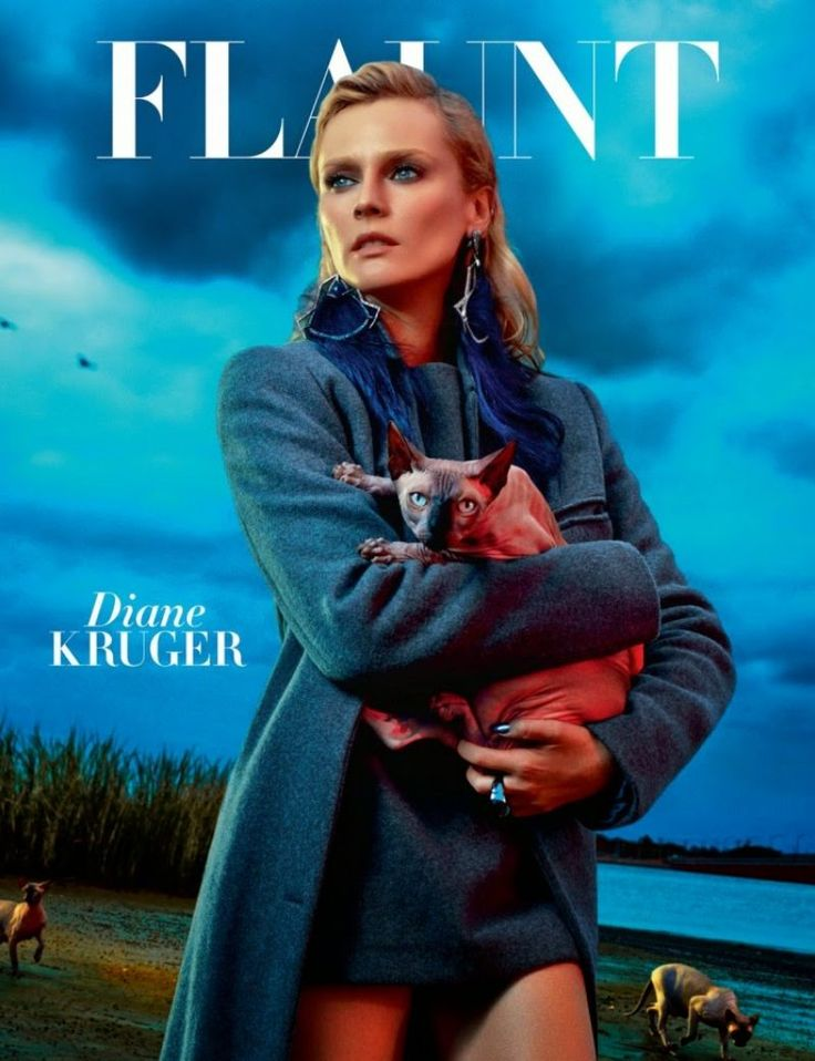 Diane Kruger by Hunter & Gatti for Flaunt November 2014