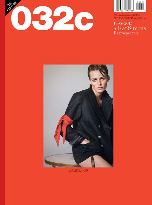 Edita Vilkeviciute by Collier Schorr for 032c Magazine Winter 2014