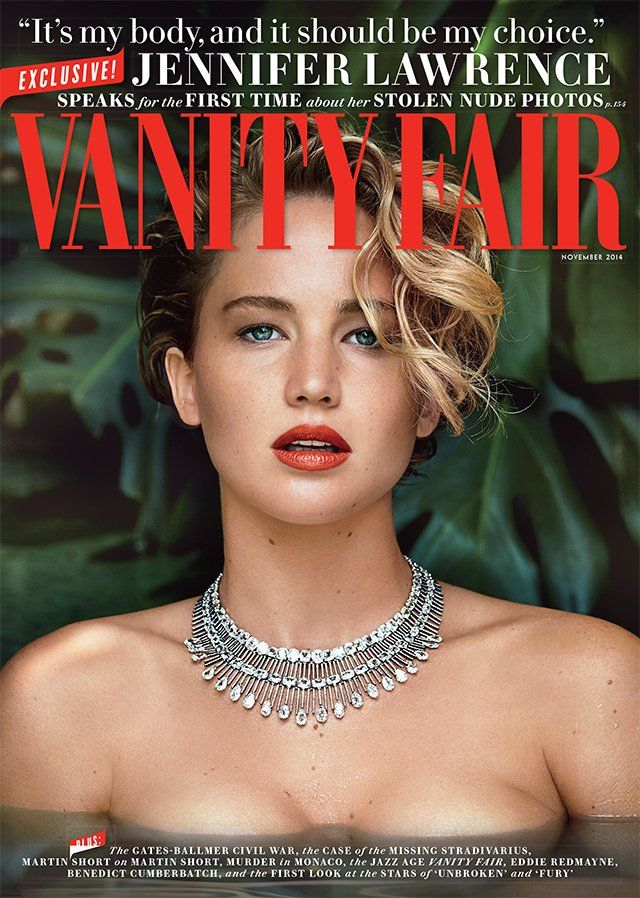 Jennifer Lawrence by Patrick Demarchelier for Vanity Fair November 2014