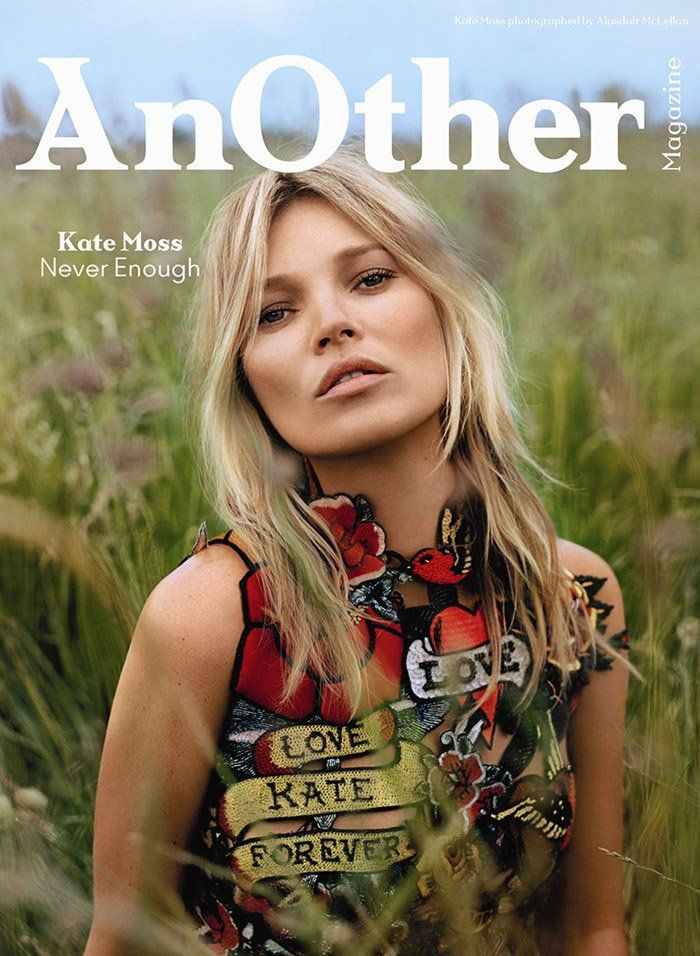 Kate Moss by Alasdair McLellan for AnOther Fall 2014
