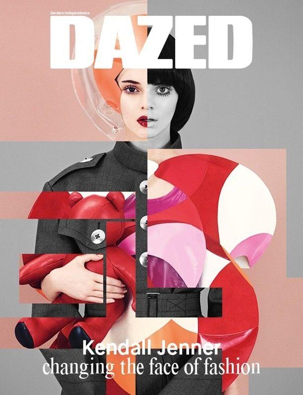 Kendall Jenner by Ben Toms for Dazed Winter 2014