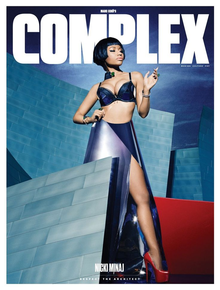 Nicki Minaj by Vijat Mohindra for Complex Magazine December 2014
