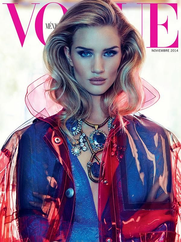 Rosie Huntington-Whiteley by James Macari for Vogue Mexico November 2014