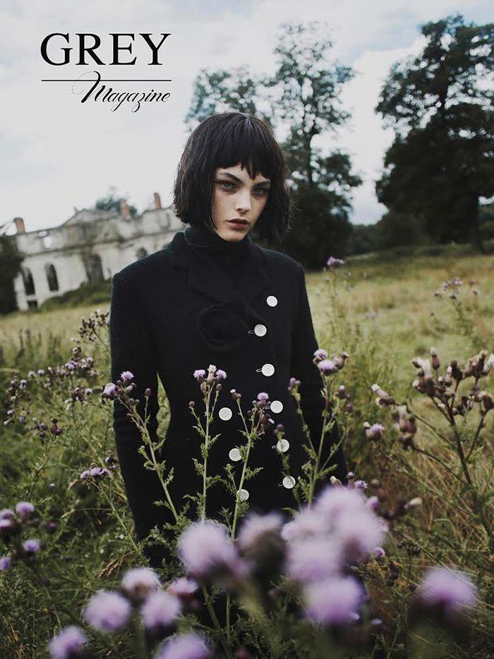 Vittoria Ceretti by Fanny Latour-Lambert for Grey Magazine Fall 2014