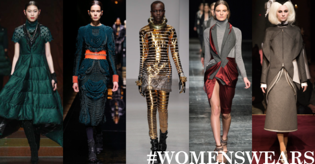 5 Uppermosts #Womenswears in 2014 ft. Bosideng, Balmain, KTZ, Prabal Gurung, Thom Browne