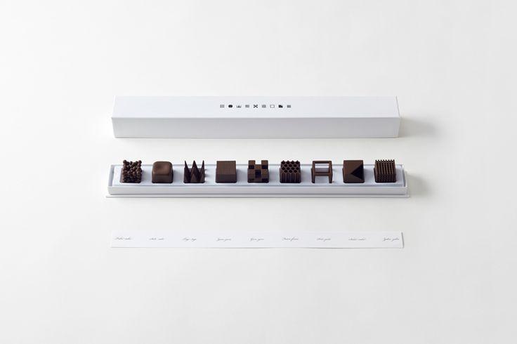Chocolatexture, 2015 Oki Sato www.nendo.jp via @designboom for #form #material