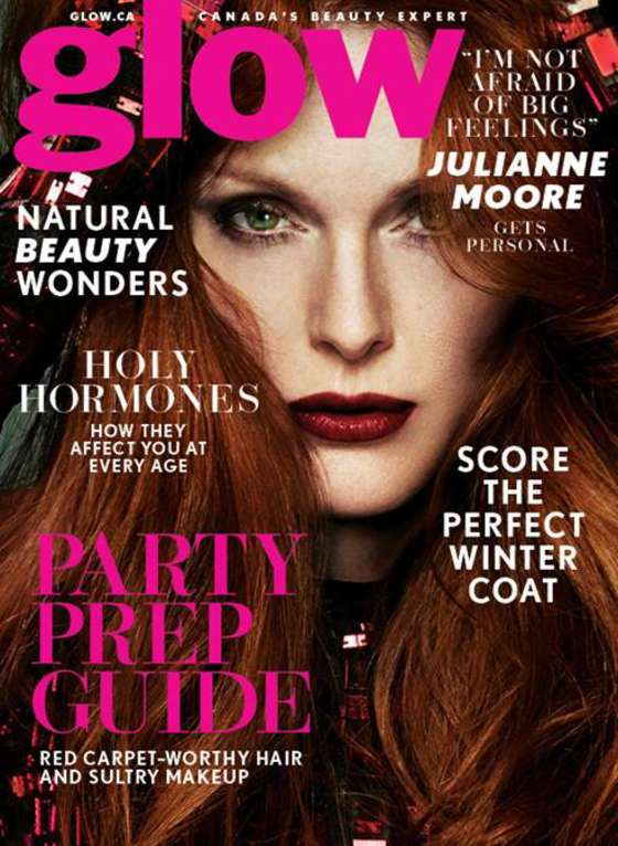 Julianne Moore @_juliannemoore by Driu & Tiago www.driuandtiago.com for Glow Winter 2015 @glowcanada