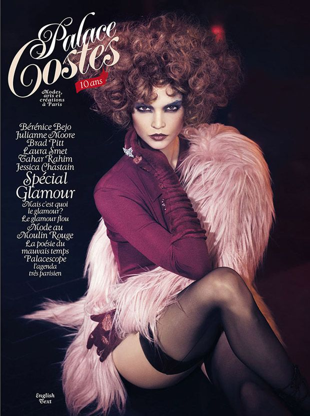 Patricia Schmid @PaddySchmid by Signe Vilstrup @Tomorrow Management for Palace Costes January 2015